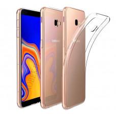 Чехол Samsung J415F Galaxy J4+ 2018 силикон прозрачный