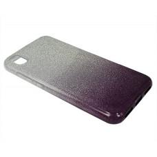 Чехол Xiaomi Redmi 7A Shine (серебро/фиолетовый)