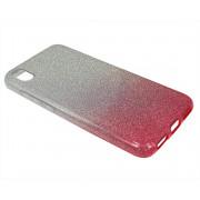 Чехол Xiaomi Redmi 7A Shine (серебро/розовый)