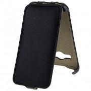 Чехол флип Activ Leather Samsung SM-G313 Galaxy Ace 4 Lite черный (открывается вниз)
