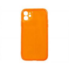 Чехол iPhone 11 NEON (оранжевый)