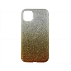 Чехол iPhone 11 Shine (серебро/золотой)