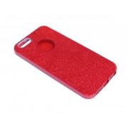 Чехол iPhone 5/5S Shine красный