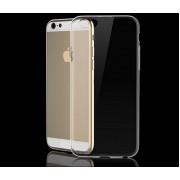 Чехол iPhone 6/6S силикон прозрачный lite белый