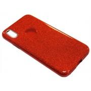Чехол iPhone X Shine красный