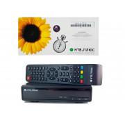 Цифровая спутниковая ТВ-приставка НТВ ПЛЮС 710HD (в комплекте договор+карта)