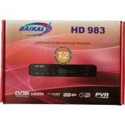 Цифровой эфирный DVB-T2 приемник BAIKAL 983 HD