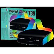 Цифровой эфирный DVB-T2 приемник World Vision T39