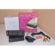 Цифровой эфирный DVB-T2 приемник World Vision T57D