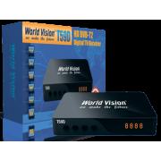 Цифровой эфирный DVB-T2 приемник World Vision T59D