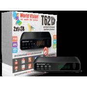 Цифровой эфирный DVB-T2 приемник World Vision T62D