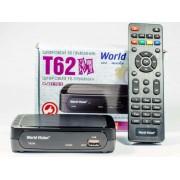 Цифровой эфирный DVB-T2 приемник World Vision T62M