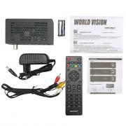 Цифровой эфирный DVB-T2 приемник World Vision T64D