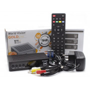 Цифровой эфирный DVB-T2 приемник World Vision T64M