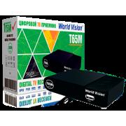 Цифровой эфирный DVB-T2 приемник World Vision T65M