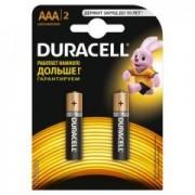 DURACELL Original АAА Батарейки алкалиновие 1.5V LR03 отрывной набор 2шт