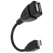 Defender OTG microUSB - USB, 8см, 87300
