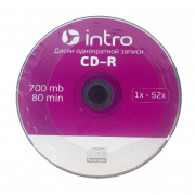 Диск Intro CD-R 700mb 52x Bulk Printable (100)