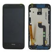Дисплей HTC Desire 601/601 Dual SIM Zara (315n) + тачскрин в сборе с рамкой черный