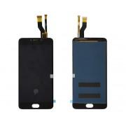 Дисплей Meizu M3 Note/M681H + тачскрин черный (длиный шлейф)