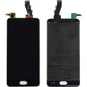 Дисплей (Модуль) для Meizu M5 в сборе с тачскрином Черный