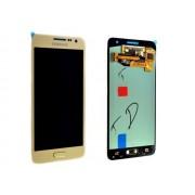 Дисплей Samsung A300F Galaxy A3 DS + тачскрин золотой оригинал NEW