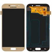 Дисплей Samsung A520F Galaxy A5 (2017) + тачскрин золотой (GH97-19733B) ORIG 100%