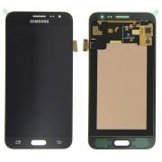 Дисплей Samsung J320F Galaxy J3 (2016) + тачскрин черный TFT (Регулируемая подсветка)