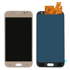 Дисплей Samsung J530F Galaxy J5 (2017) + тачскрин золотой TFT (Регулируемая подсветка)