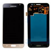Дисплей Samsung SM-J320F J3 (2016)+ тачскрин (золото), TFT-LCD