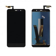 Дисплей Xiaomi Redmi Note 3 + тачскрин черный