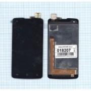 Дисплей + Тачскрин + рамка DNS S3503B, б/у, черный