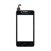 Дисплей + Тачскрин + рамка Lenovo A316i/A319/A396, б/у, черный