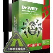 Dr.Web Security Space, КЗ, на 12 мес.,4 лиц