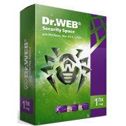 Dr.Web Security Space, КЗ, продление на 12 мес.,4 лиц