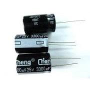 Электрический конденсатор 25V 3300uF