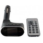 FM Modulator 630C (USB 5V/0.5A, MP3/WMA, поддержка microSD, громкая связь, Bluetooth V3.0 + EDR/AUX/Дисплей/Дистанционно