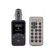 FM Modulator 701E (USB 5V/3.1A, MP3/поддержка microSD/громкая связь/Bluetooth 3.0/Дисплей/Дистанционное управление)