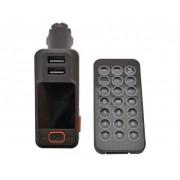 FM Modulator BT-719 (2 USB 5V/2.1A/Поддержка microSD/USB до 32Gb/AUX/Громкая связь/Bluetooth 3.0/Дисплей/Дистанционное у
