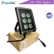 Инфракрасный прожектор IR-GY06 для камер видеонаблюдения, 6 ИК диодов, 90градусов