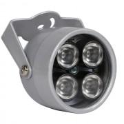 Инфракрасный прожектор Light CCTV для камер видеонаблюдения, 4 ИК диодов