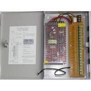 Источник питания S-180-12 (в металлическом коробе, 12В 15A, 18 канальный)