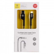 Кабель Baseus Confidant Apple 8pin - USB черный, 1м