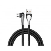 Кабель Baseus MVP Mobile game Cable microUSB - USB черный, 1м