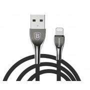 Кабель Baseus Mageweave Zinc Alloy Apple 8pin - USB черный