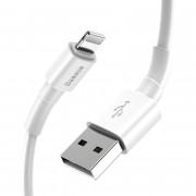 Кабель Baseus Mini white Lightning - USB белый 1м
