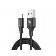 Кабель Baseus Rapid Type-C - USB черный, 1м