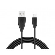Кабель Baseus Small Pretty microUSB - USB черный, 1м