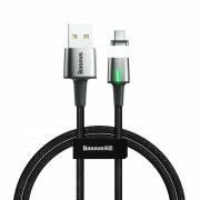 Кабель Baseus Zinc Magnetic Cable Lightning - USB черный