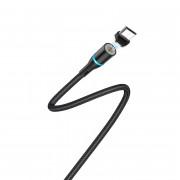 Кабель Borofone BU16 Skill magnetic Type-C - USB черный